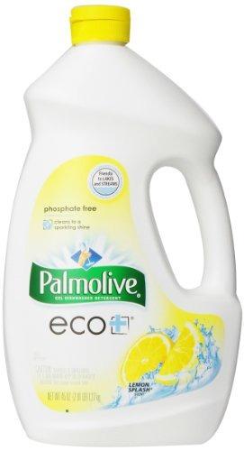 Palmolive Eco Gel Dishwasher Detergent, Lemon Splash - 45 Ou