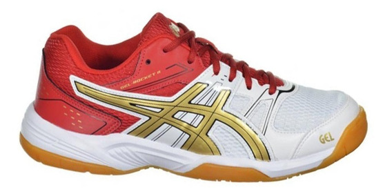 Tênis Asics Gel Rocket 7 A 2394 Futsal Handebol Indoor Voley