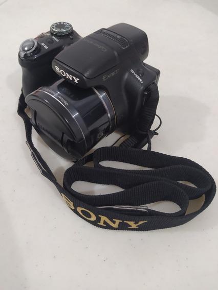Câmera Fotográfica Sony Dsc Hx1 Com Acessórios Originais