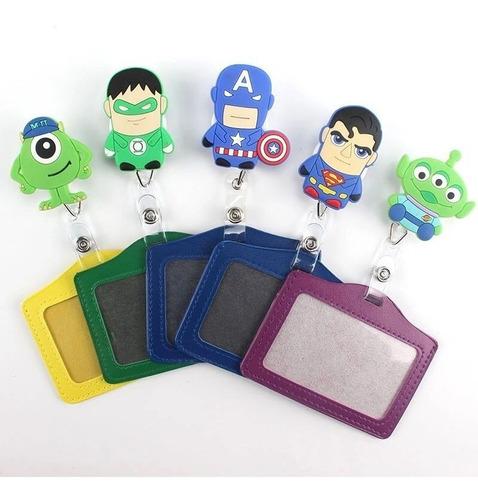 Porta Carnet Yoyo Muñecos Super Heroes