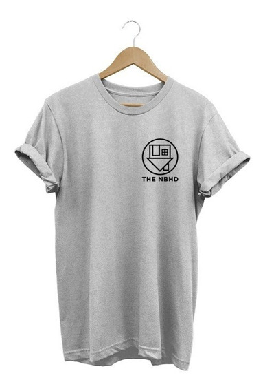 Camiseta Feminina The Neighbourhood Nbhd Baby Look 2019