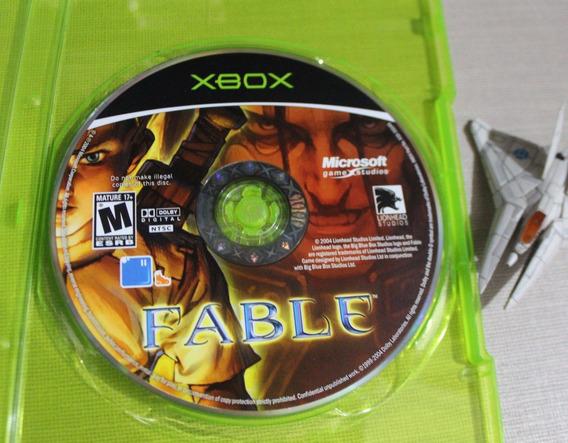 Fable [ Xbox Clássico ] Midia Original Disco - Carta Registrada