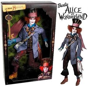 Boneco Chapeleiro Maluco Alice In The Wornderland Mad Hatter