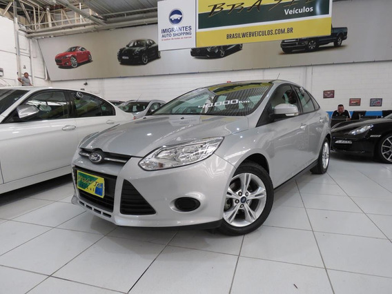 Ford Focus Sedan 2.0 S Flex Aut Completo C/ Rodas 43.700 Kms