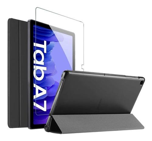 Estuche Funda + Vidrio Para Tablet Samsung Tab A7 2020