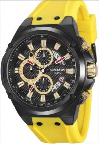 Relógio Seculus Masculino 20553gpsvpu1