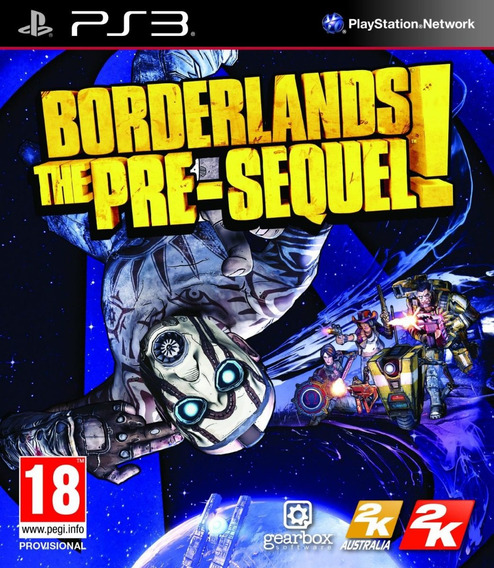 Jogo Borderlands The Pre-sequel Playstation 3 Ps3 Mídia Físi