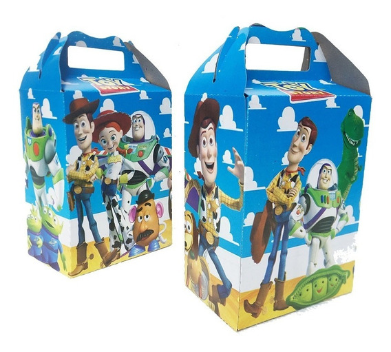 10 Cajas Dulceras Toy Story Fiesta Bolo Full