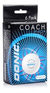 6 Pelotas 40+ Donic Coach De Ping Pong - Tenis De Mesa