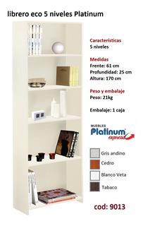 Librero Eco 5 Niveles - Envio Sin Cargo Al Gran Mza