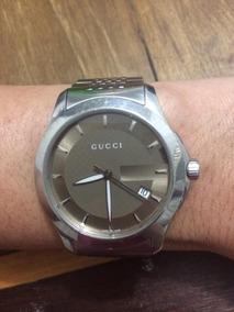 Relógio Gucci Unissex Feminino Masculino Seminovo A Prova D