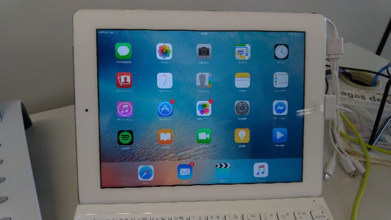 iPad A1430 Wifi 3g - 32gb Branco Usado