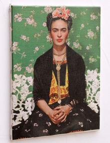 Quadro Frida Impressão Em Tela De Pintura