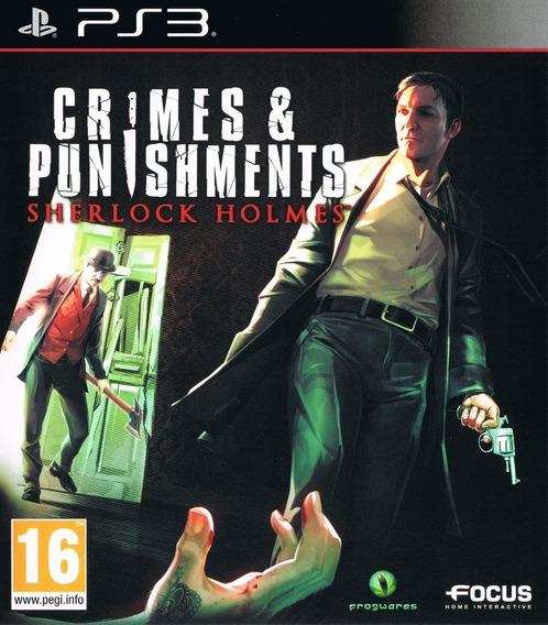 Sherlock Holmes Crimes And Punishments - Psn Ps3
