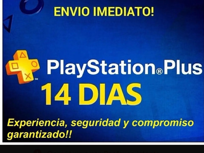 Ps Plus 14 Días + Ps Now
