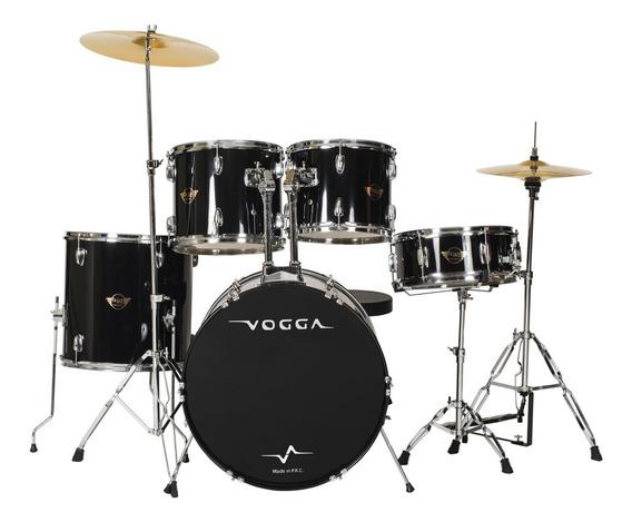 Bateria Acústica Bumbo 22 Pol Talent Vpd924 Preta - Vogga