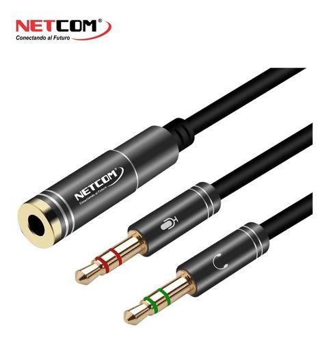 Adaptador Para Unir O Separar Audifonos C/ Microfono Celular