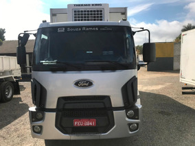 Ford Cargo 2429 Baú Camara Fria Thermo King 2013