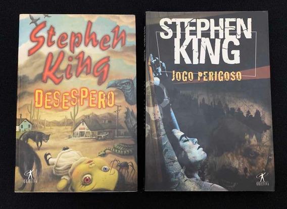 Lote Kit Livro Stephen King - Desespero - Jogo Perigoso