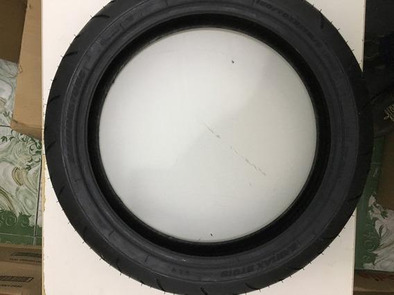 Pneu Dianteiro Bridgestone Battlax Bt015f Radial 120/70 R17