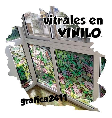 Vinilos Decorativos Vitraux Vitro Vitral Vidrios Ventanas