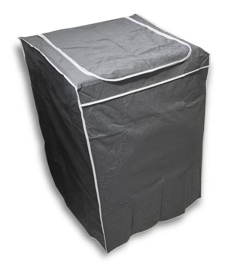 (cmkz077) Capa Maquina De Lavar Com Zíper Electrolux 8kg(antiga), 12kg, 15kg E 15,2kg, Ge 13kg, 15kg