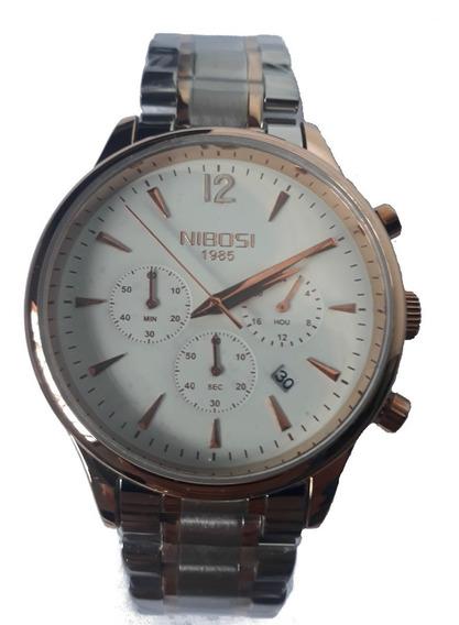 Relógio Masculino Nibosi 2326 Luxo Social 100% Funcional