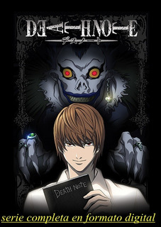 Serie Anime Death Note Completa Hd Envio Digital