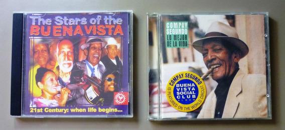 Lote X 2 Cd Buena Vista & Compay Segundo Uk Y Germany