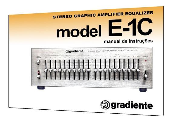 Manual Do Equalizador Gradiente Model E-1c (cópia)