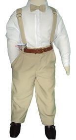 Conjunto Masculino Infantil Social Pajem Calça Camisa