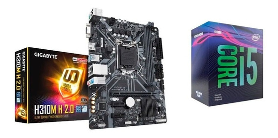 Processador Intel I5-9400f 2.90 Ghz + Placa Mae Gigabyte