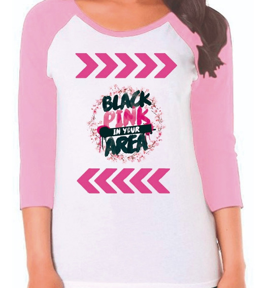 Playera Black Pink In Your A