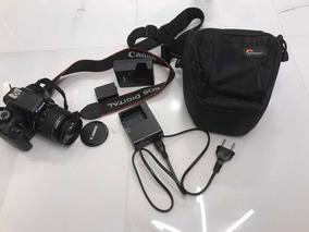 Máquina Fotográfica Canon Digital Eos Rebel T3 - Semi Nova