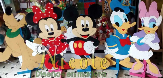 Personajes Grandes En Mdf De 3mm Mickey Mouse
