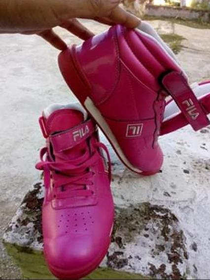 Zapatillas Fila Rosadas Talle 37