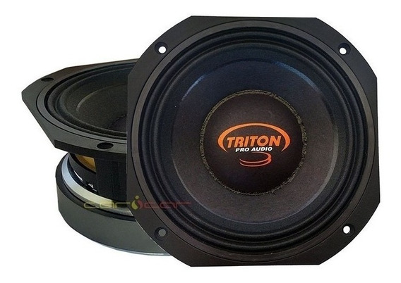03 Alto Falantes Woofer Triton Pro Audio 8xrl600 8 Polegadas