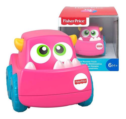 Imagem 1 de 8 de Carrinho Mini Monstrinho - Bebê 6m+ - Fisher Price Mattel