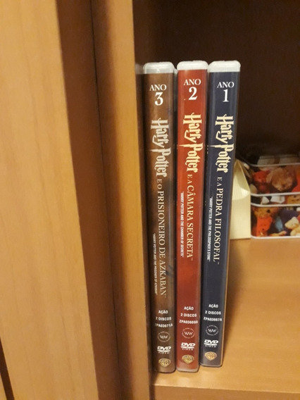 Harry Potter (3 Primeiros Filmes)