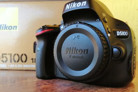 Camera Nikon D5100 + Lente 18-55mm F/3.5-5.6 Com 1889 Clics