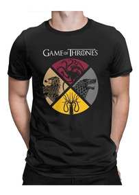 Playera Game Of Thrones Todas Las Casas Con Envio Gratis