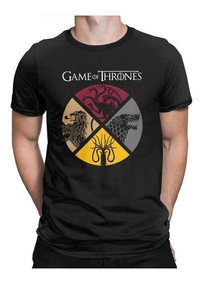 Playera Game Of Thrones Todas Las Casas Con Envio Gratis