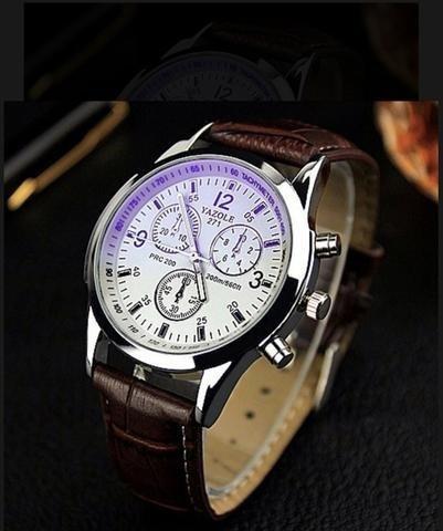 Relógio Masculino Yazole Military Promoção