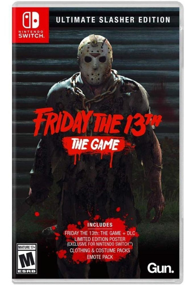 Friday The 13th Ultimate Slasher Edition Switch Mídia Física