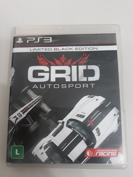 Grid Autosport Limited Black Edition Ps3 Midia Fisica