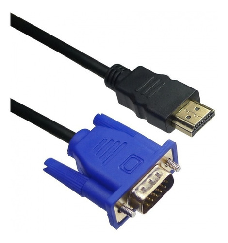 Cable Hdmi A Vga Adaptador 1,5 Mts