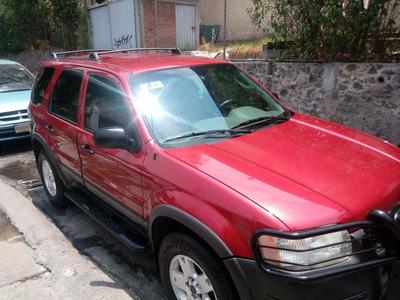 Ford Escape 2003.xlt 5 P. Piel.100% Mexicana