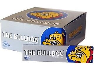 Papel Para Fumar The Bulldog Paper Silver / Display