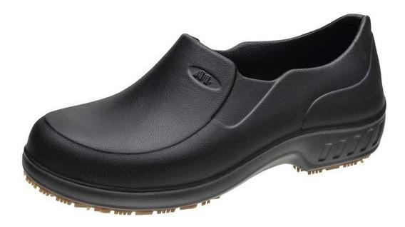 Sapato Para Serviço Marluvas 101fclean Pr Couro Preto
