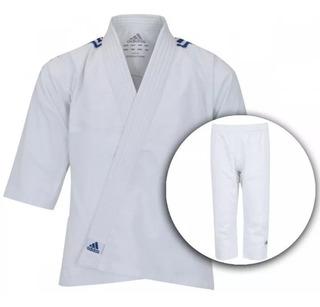 Kimono De Judô adidas J200e - Infantil Grátis Faixa Branca
